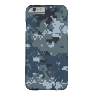 Navy NWU Camouflage Barely There iPhone 6 Case