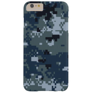 Navy NWU Camouflage Barely There iPhone 6 Plus Case