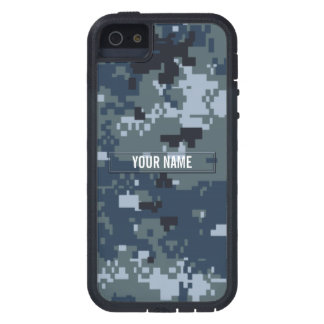 Navy NWU Camouflage Customizable Case For iPhone SE/5/5s