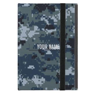 Navy NWU Camouflage Customizable Cover For iPad Mini