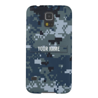 Navy NWU Camouflage Customizable Galaxy S5 Case