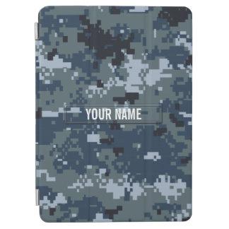 Navy NWU Camouflage Customizable iPad Air Cover