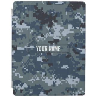 Navy NWU Camouflage Customizable iPad Cover