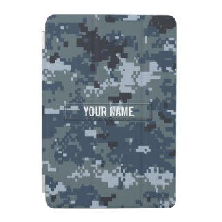 Navy NWU Camouflage Customizable iPad Mini Cover