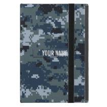 Navy NWU Camouflage Customizable iPad Mini Case