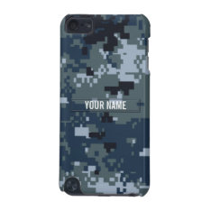 Navy NWU Camouflage Customizable iPod Touch 5G Case at Zazzle
