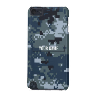 Navy NWU Camouflage Customizable iPod Touch 5G Case