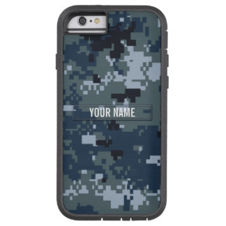 Navy NWU Camouflage Customizable Tough Xtreme iPhone 6 Case