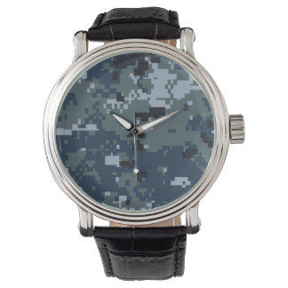 Navy NWU Camouflage Wrist Watch