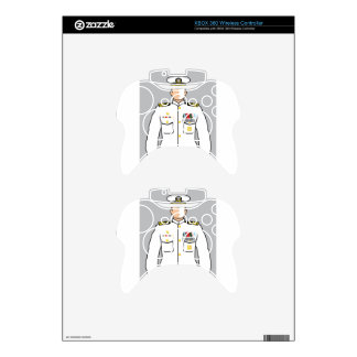 Navy Officer Xbox 360 Controller Skins