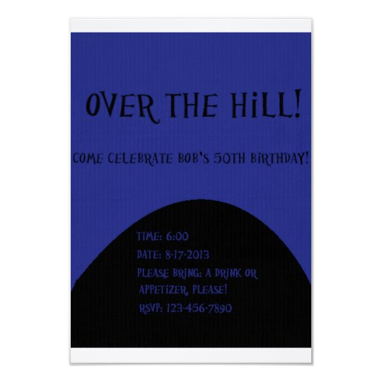 Navy Over The Hill Invites