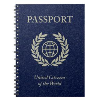 navy passport notebooks