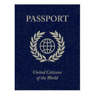 navy passport postcard