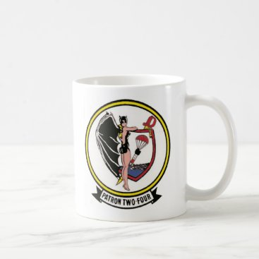 Coffee Themed Navy Patrol Squadron VP-24 Coffee Mug