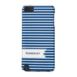 Navy Pattern iPod Touch (5th Generation) Case