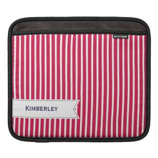 Navy pattern sleeve for iPads