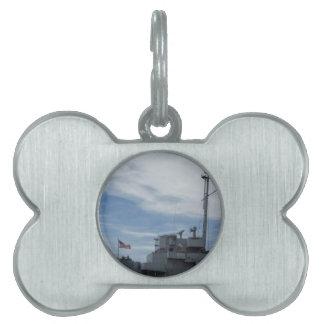 Navy Pet ID Tag