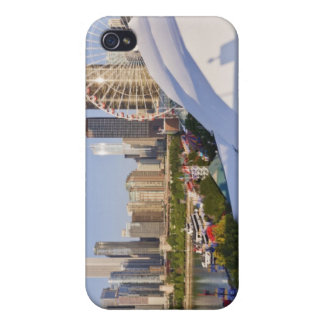 Navy Pier and Downtown Chicago iPhone 4 Case