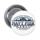 Navy Pier Chicago 2 Inch Round Button