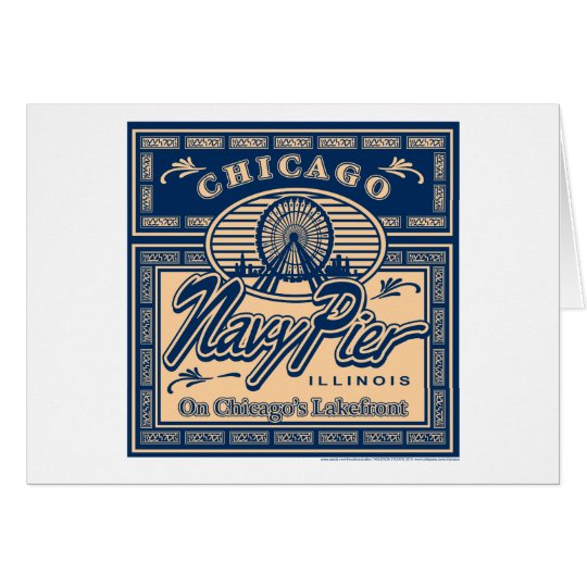 Navy Pier Chicago Card
