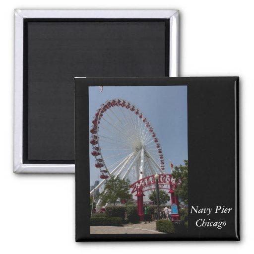 Navy Pier,  Chicago Fridge Magnet