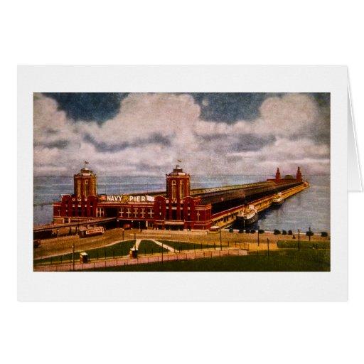 Navy Pier, Chicago, Illinois (ca.1916-1930) Card