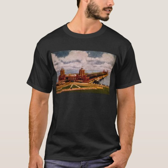 Navy Pier, Chicago, Illinois (ca.1916-1930) T-Shirt
