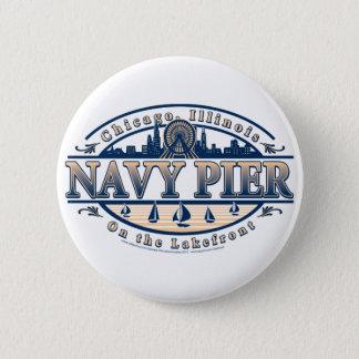Navy Pier Chicago Pinback Button