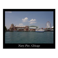 Navy Pier, Chicago Postcards