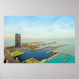 Navy Pier Chicago Poster