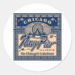 Navy Pier Chicago Stickers