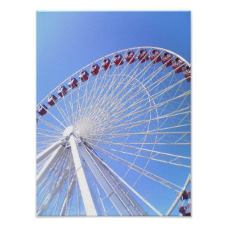 Navy Pier Ferris Wheel Print