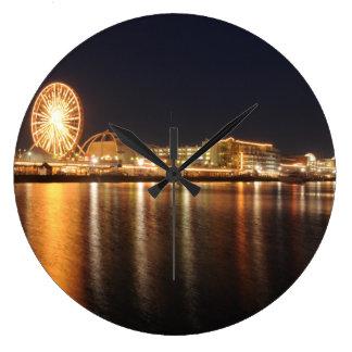 Navy Pier Large Clock