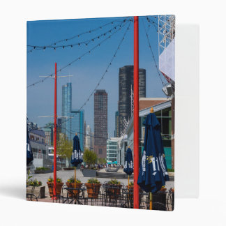 Navy Pier Lines 3 Ring Binder