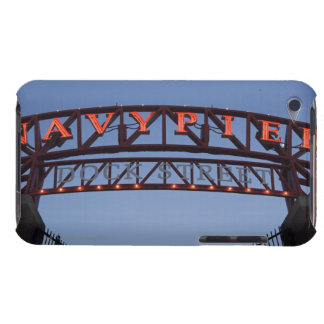 Navy Pier sign in Chicago Illinois USA Barely There iPod Case