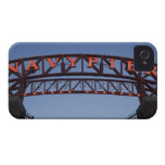 Navy Pier sign in Chicago Illinois USA iPhone 4 Cover