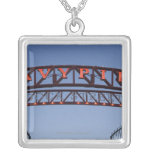 Navy Pier sign in Chicago Illinois USA Necklace