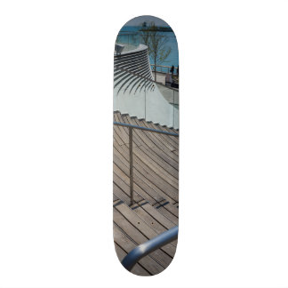 Navy Pier Stairs Skateboard