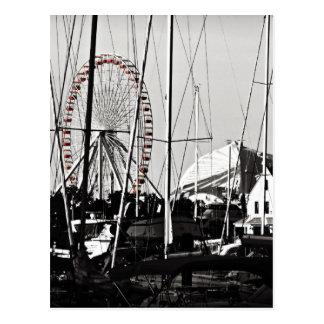 Navy Pier's Ferris Wheel Postcard