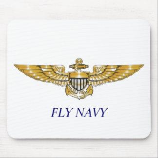 Navy_Pilot_Wings, MARINA DE GUERRA de la MOSCA Tapetes De Raton