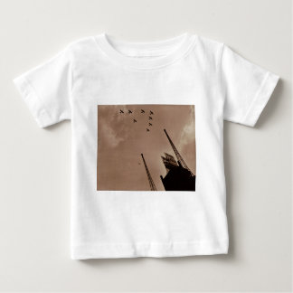 Navy Planes Fly Over Park Central Hotel WWII T-shirt