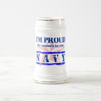 navy proud - mom mug
