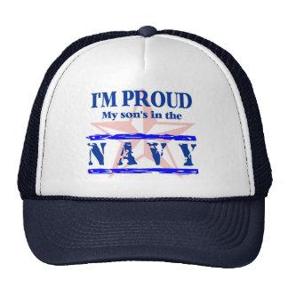Navy proud - son trucker hat