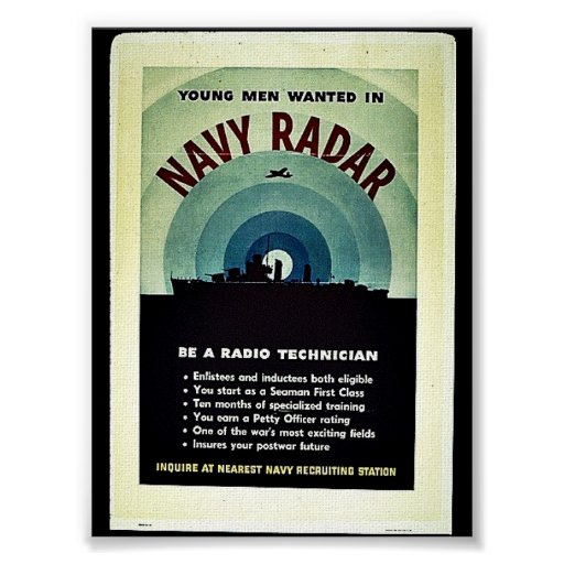 Navy Radar Posters