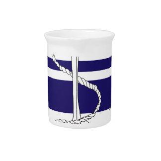 navy rear admiral, tony fernandes drink pitcher