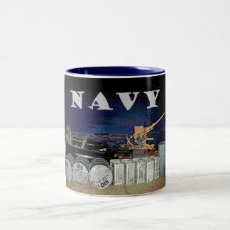 Navy Rear Gunnery Graphic Coffee Mug