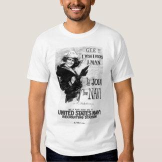 Navy Recruiting Poster Shirt