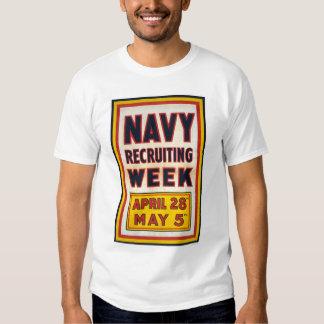 Navy recruiting week shirt