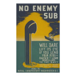 Navy recruiting World War II vintage military Poster