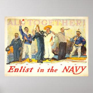 Navy Recruitment Poster